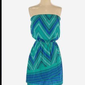 Strapless or halter summer dress from Express